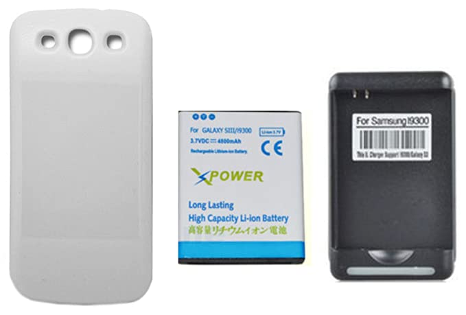 Amazon.com: X-Power 4800mAh Batería Extendida con Carcasa ...
