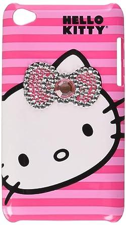 Amazon.com: hello kitty iPod Touch 4 funda – rosa, Rosado ...