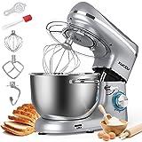 KUCCU Stand Mixer, 6 Qt 660W, 6-Speed Tilt-Head Food Dough Mixer, Kitchen Electric Mixer with Stainless Steel Bowl,Dough Hook