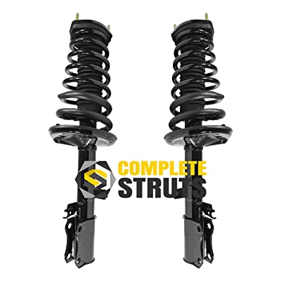 1997-2001 Toyota Camry Rear Quick Complete Struts Assembly Pair (V6 Engines Only)
