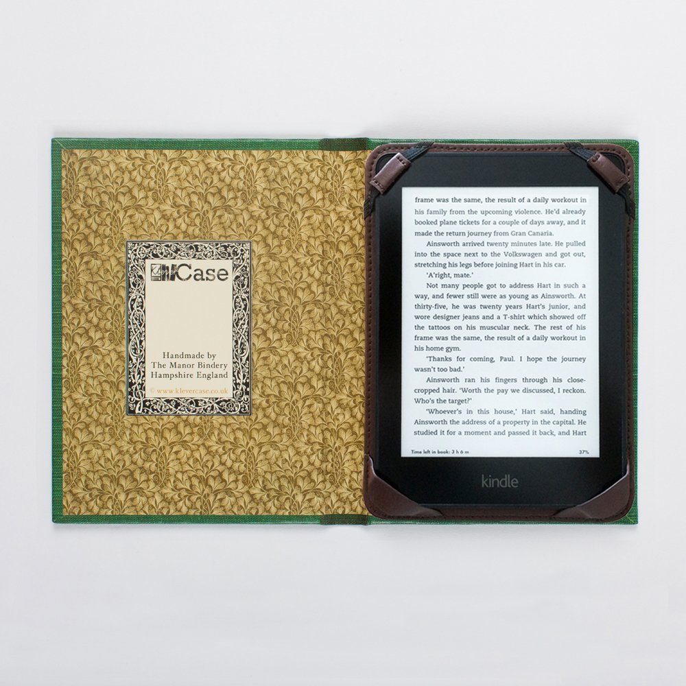 How to Make a Book Style eReader Cover photo