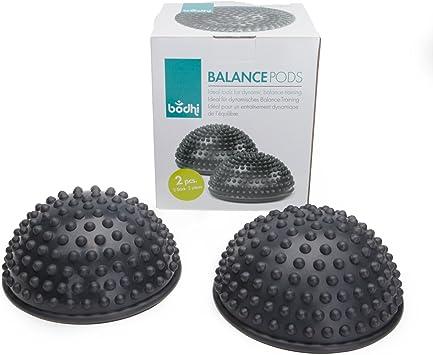 Balance-Igel Set Fitness Halbkugel mit Noppen Trittstein f/ür Kinder /& Erwachsene 2er-Set Therapie Balance Igel Versch Balance/übungen I 8cm Gro/ß