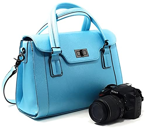 Amazon Com Women Dslr Camera Bag And Ladies Handbag With Removable