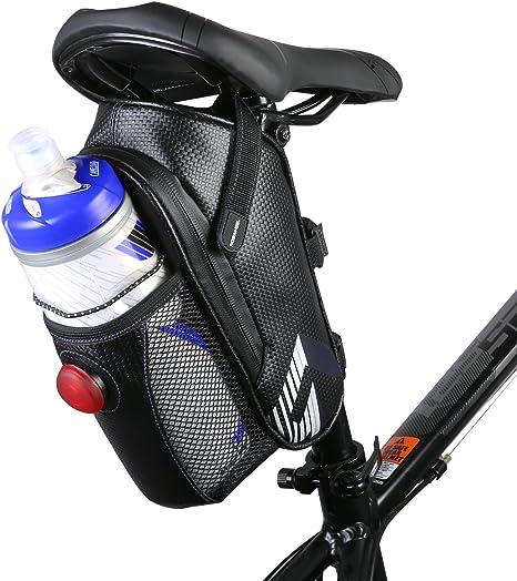 lulutus impermeable bicicleta alforja bicicleta bolsa bajo el ...