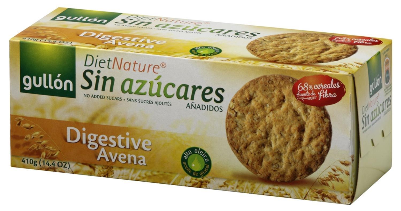 Gullón Digestiva Muesli Diet Nature Galleta Desayuno y Merienda sin Azúcares Añadidos - 410 gr: Amazon.es: Amazon Pantry