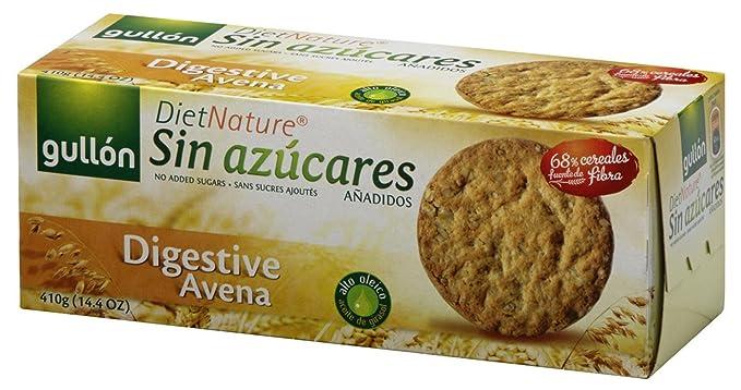 Gullón Digestiva Muesli Diet Nature Galleta Desayuno y Merienda sin Azúcares Añadidos - 410 gr