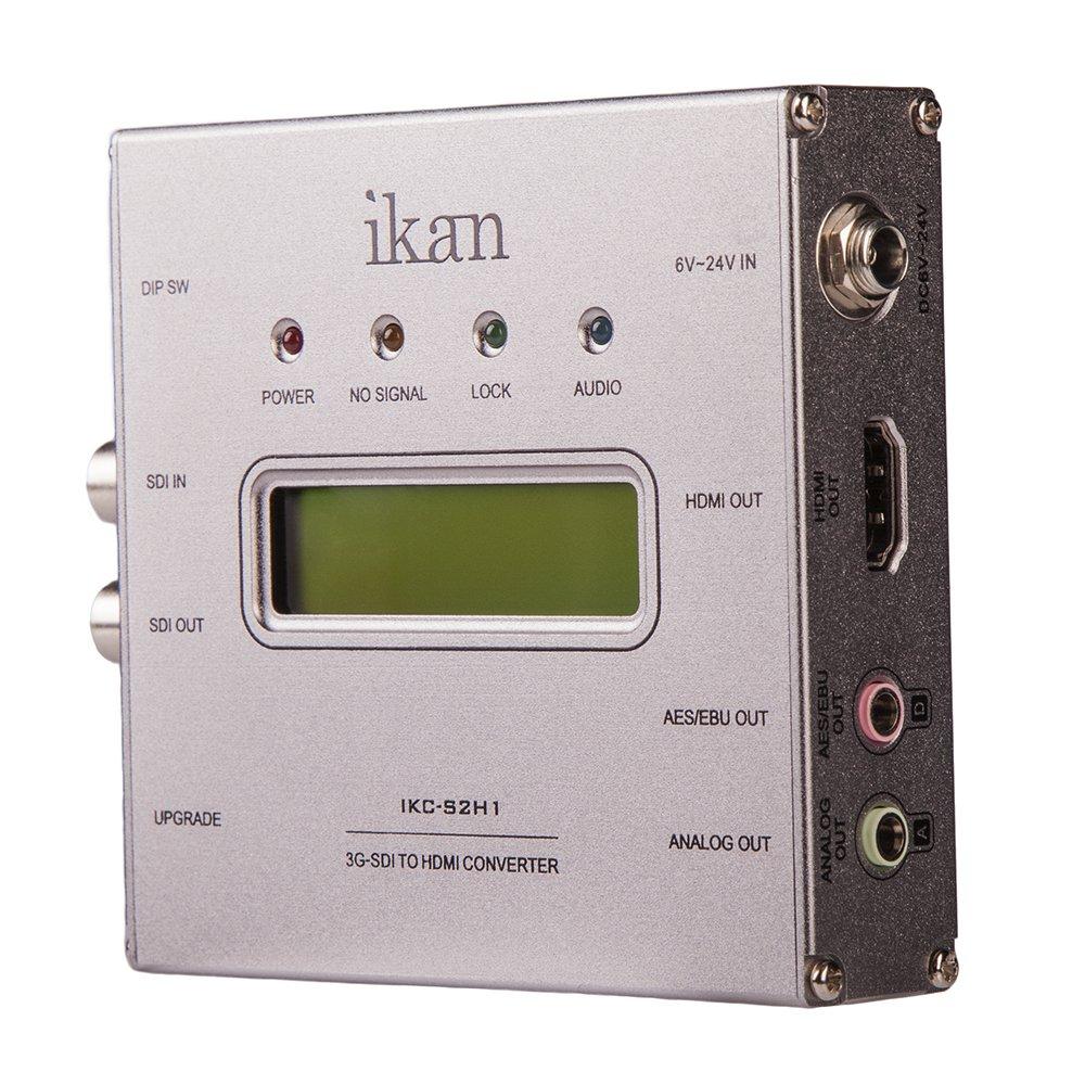 Ikan IKC-S2H1 SDI to HDMI Converter (Black) by Ikan