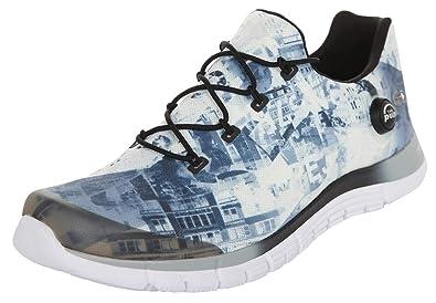 Reebok Damen Sneakers Zpump Fusion Urban Grey White Black