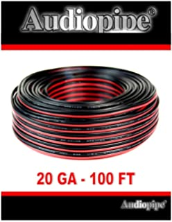 Audiopipe 12 ga gauge red black stranded 2 conductor speaker wire audiopipe 100 feet 20 ga gauge red black 2 conductor speaker wire audio cable keyboard keysfo Image collections