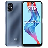 "ZTE Blade V20 Smart (128GB, 4GB) 6.82"", 16MP Quad Camera, 5000mAh Battery, Fingerprint & Face Unlock, GSM Unlocked US + Latin"