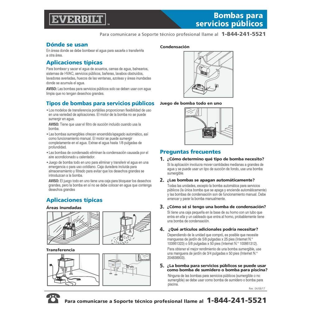 Toucan City Tool Kit (9-Piece) and Everbilt 0.1 HP 12-Volt Non-Submersible Utility Pump ZE00804 - - Amazon.com