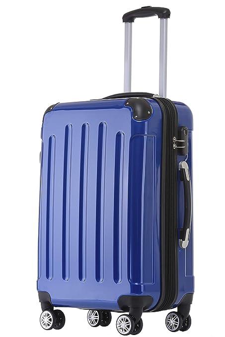 Beibye - maletas rígidas con ruedas, azul, Set