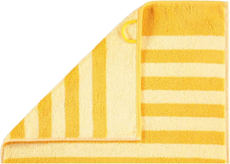 Serviette 50 x 100 cm Classic Stripes 1610 Lot de 50 Serviettes de Toilette Miel Miel Joop Coton