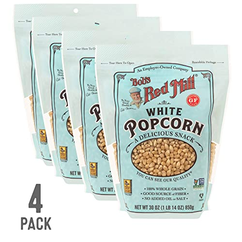Bob's Red Mill Resealable Whole White Popcorn
