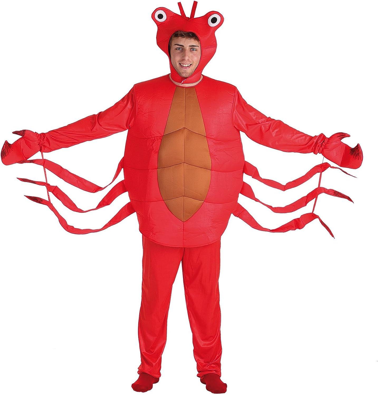 LLOPIS - Disfraz Adulto Cangrejo Rojo: Amazon.es: Juguetes y juegos