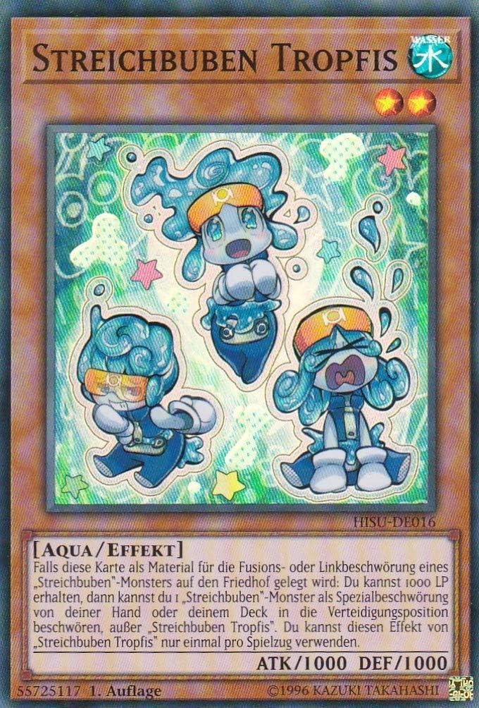 Auflage Deutsch Yu-Gi-Oh HISU-DE015 Streichbuben Luftis 1 LMS Trading Super Rare