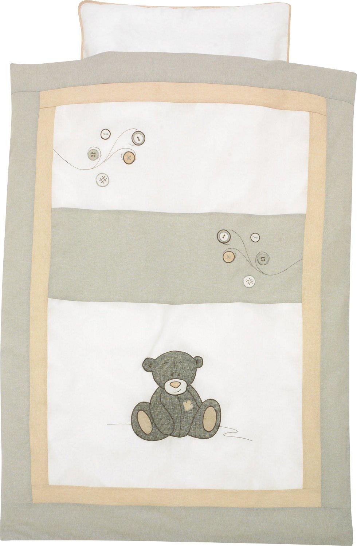 Alvi Bettw/äsche Strick Teddy grau, 40x60 cm // 100x135 cm