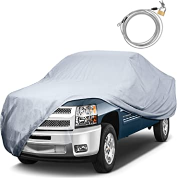 2016 2017 CHEVY SILVERADO 1500 Double Cab 6.5ft Box BREATHABLE TRUCK COVER