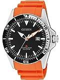 Citizen Herren-Armbanduhr Analog Quarz Kautschuk BN0100-18E