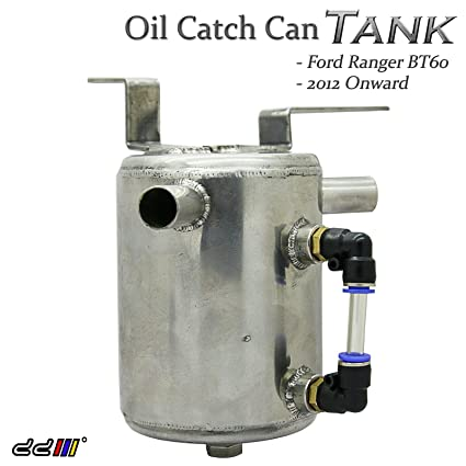 Oil Catch Can Tank For Ranger BT60 2.2cc Diesel Turbo Stainless Steel 11++