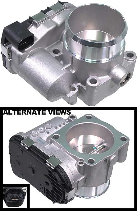 APDTY 133776 Throttle Body Valve Assembly Fits 1.8L Turbo Engine Only On 2000-2006