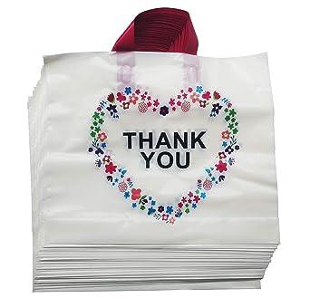 Amazon.com: 50 bolsas de mercadería de agradecimiento beige ...