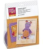 Knorr Prandell 218405003–Crochet Set animaux–hippopotame pour selberhäkeln