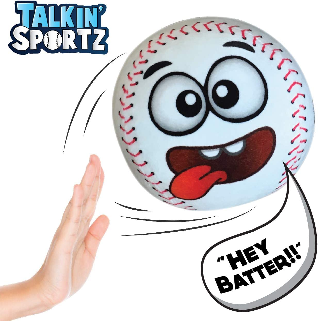 Interactive Baseball Toy with Sound Effects