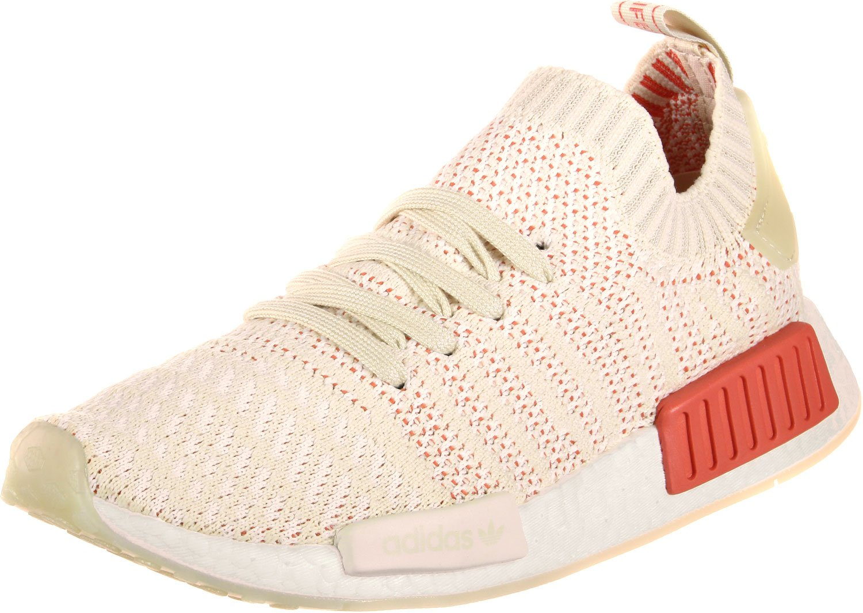 Adidas NMD_r1 Stlt Primeknit, Zapatillas para Mujer 42 EU|Beige