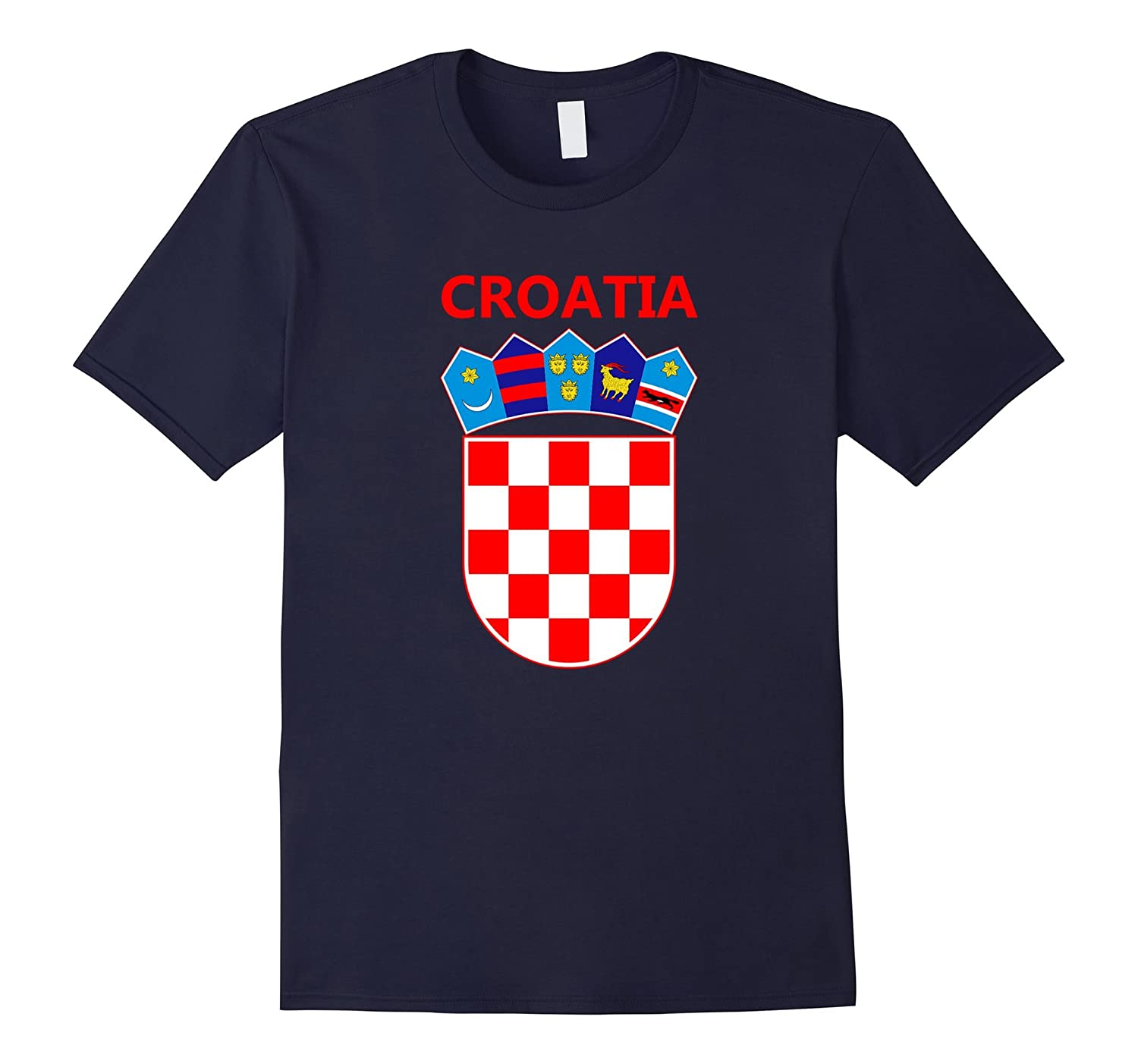 Croatia Coat of Arms T-Shirt National Emblem Croatia Shirt-Vaci