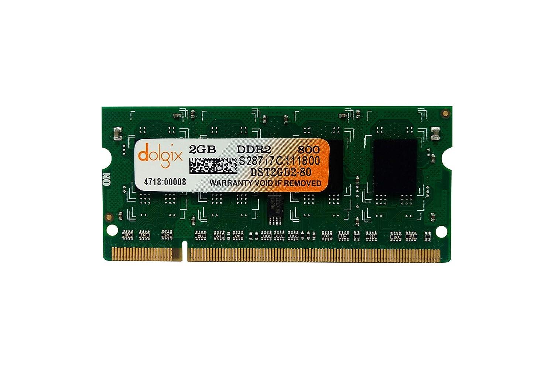 0878de13fdea4 Amazon.in  Buy Dolgix 2GB DDR2 800MHz Laptop Ram Online at Low Prices in  India