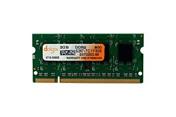 ee2d1585a646f Image Unavailable. Image not available for. Colour  Dolgix 2GB DDR2 800MHz  Laptop Ram
