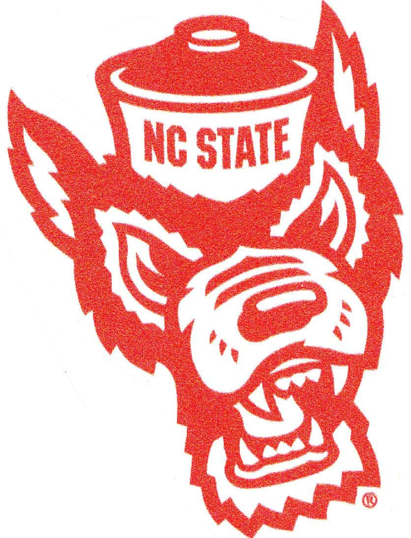 NC State Wolfpack NCAA Football Sports Wall Decal Vinyl Sticker For Room Home