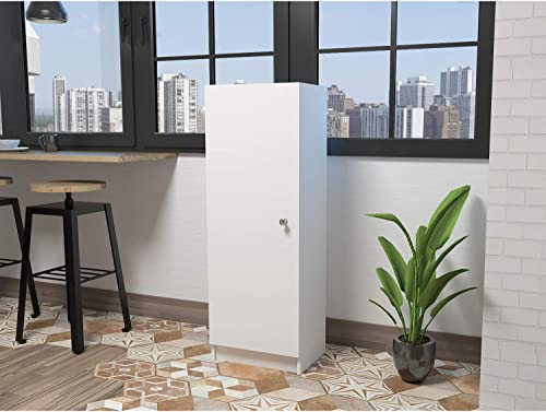 TUHOME Belleria Pantry Cabinet