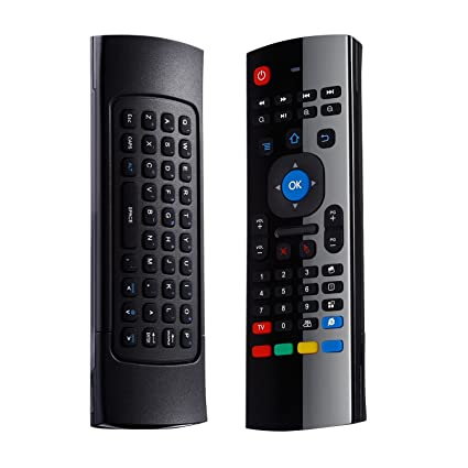 Roll over image to zoom in 2 4G Air Mouse, LESHP 2 4G Fly Mouse Mini  Wireless Keyboard Mouse Air Infrared Remote Learning For Android Smart TV  Box G