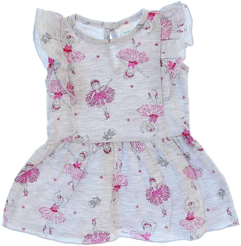 Kleid Sommerkleid Rosa Baby Kleidchen 56 62 68 74 Babykleid kurzarm Baumwolle