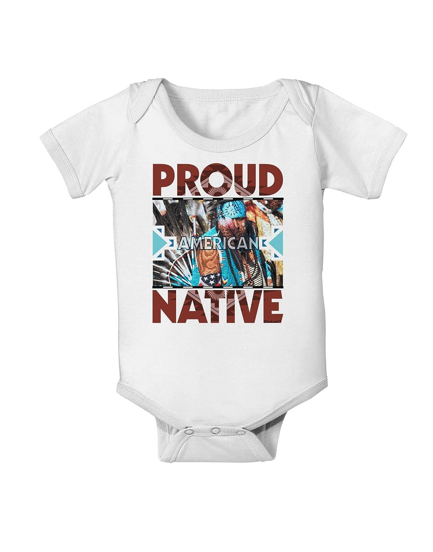 TooLoud Proud Native American Baby Romper Bodysuit