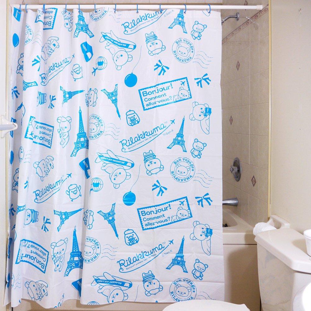 Rilakkuma Bath Curtain  Amazon.co.uk  Kitchen   Home 35b1688aa