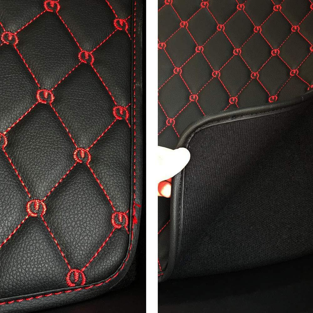 Black with Red Stitches FITTOP Topfit Housse de Protection pour Coffre Avant et arri/ère pour mod/èle 3 Back Seat Protector