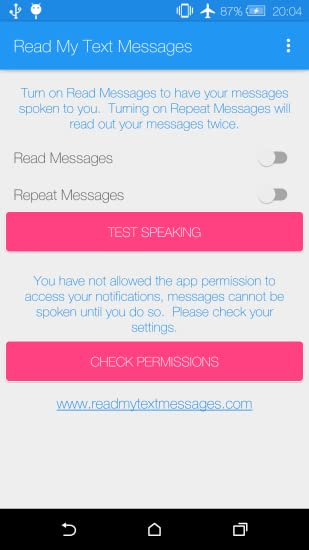 Amazon com: Read My Text Messages: Appstore for Android