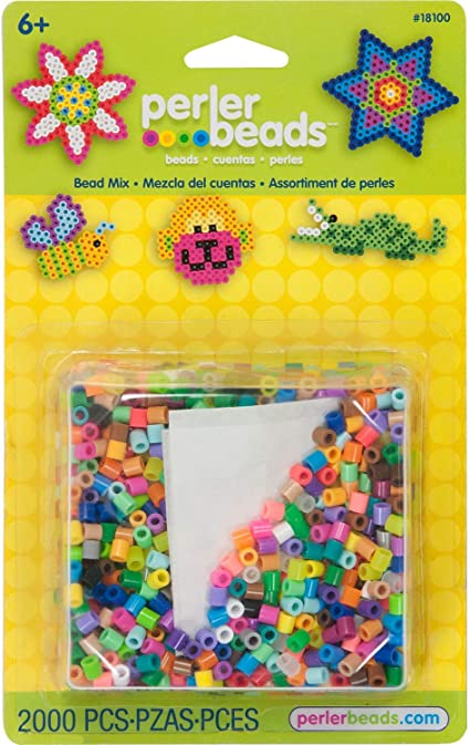 11000 pcs Perler Beads Assorted Multicolor Fuse Beads for Kids Crafts