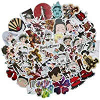 50PCS Black Clover Japanese Anime Stickers Lovely Boy and Girl Sticker Laptop Computer Bedroom Wardrobe Car Skateboard…