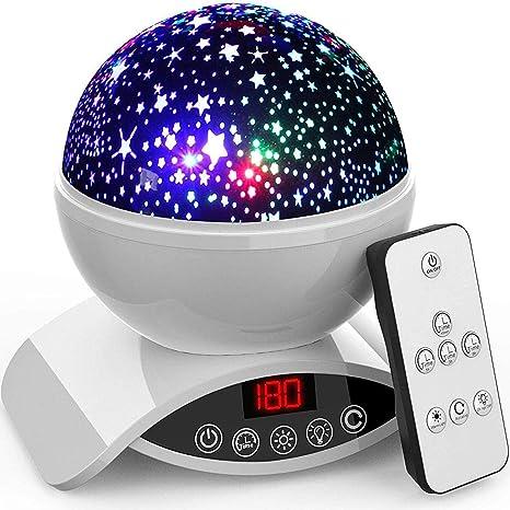 Amazon.com: Amouhom - Proyector de luz nocturna para bebé ...