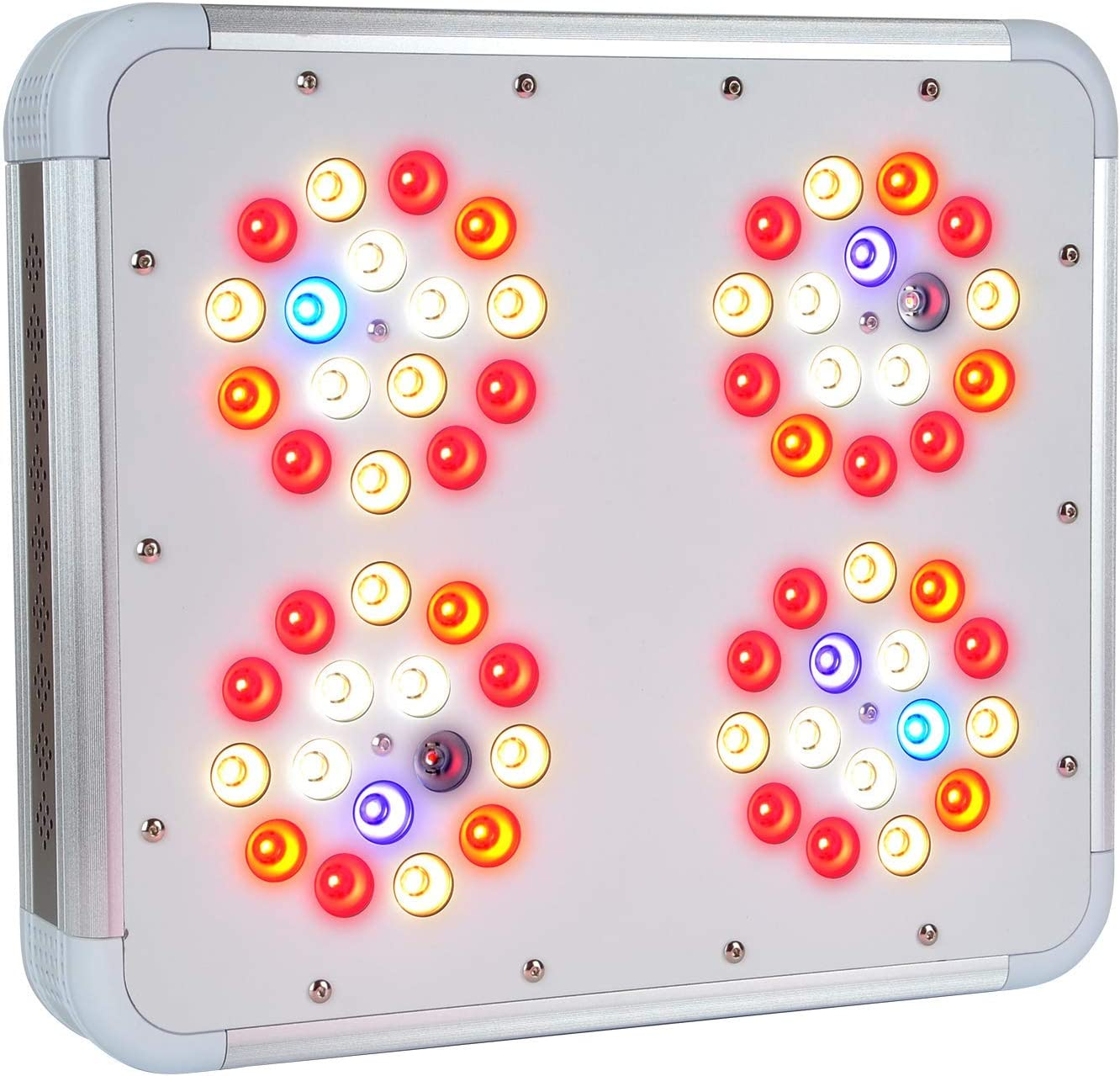 1000W LED Grow Light Veg Bloom – Full Spectrum Quiet, Cool Lamp for Indoor Growing – Perfect for M Tent and 2-4 Large Plants – 112W Power Draw, 630 PPFD at 18 – 3-Year 100 Diode War, Lifetime Supp