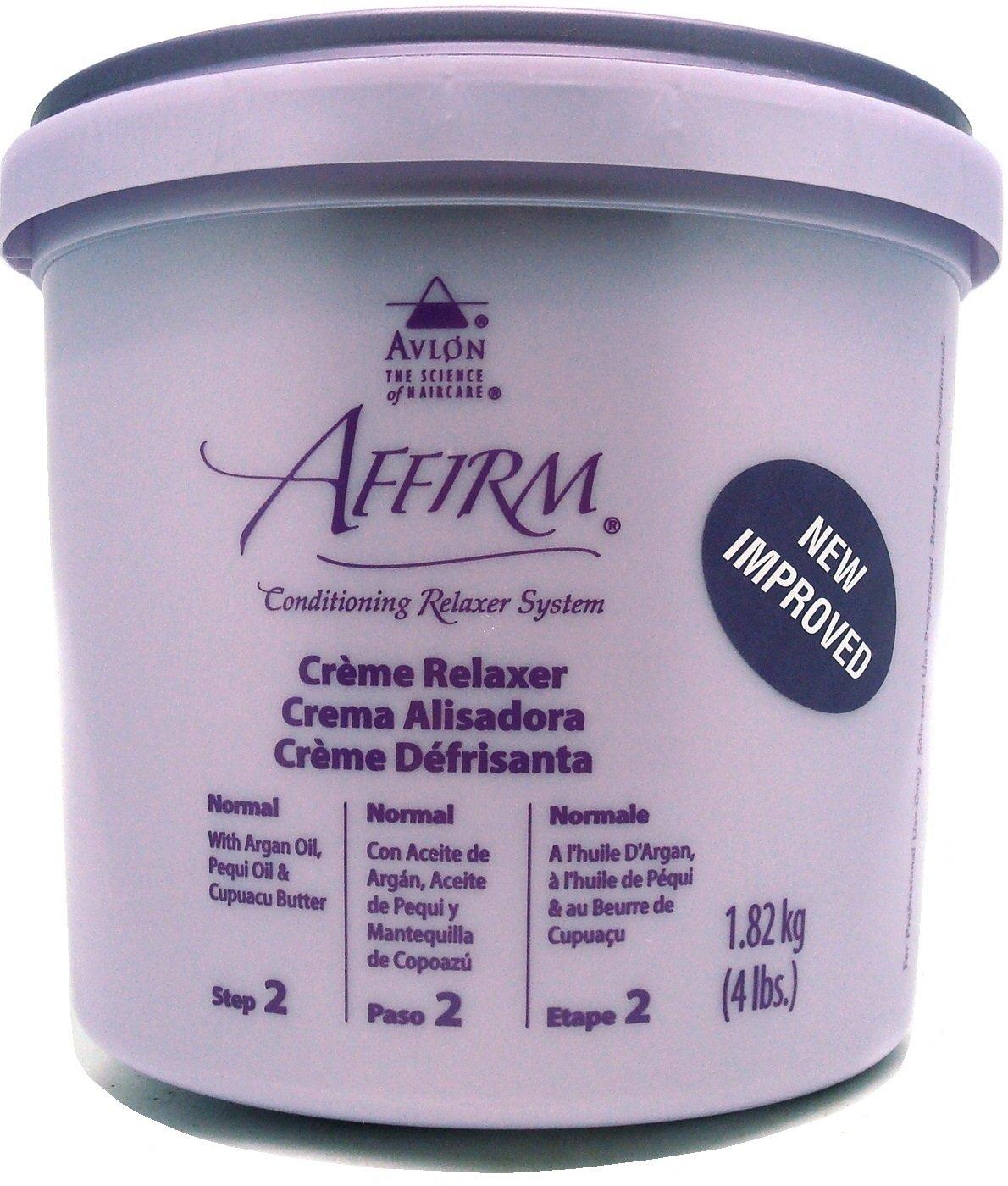 Avlon Affirm Creme Relaxer Normal Tratamiento Capilar - 300 ml 0796708160022