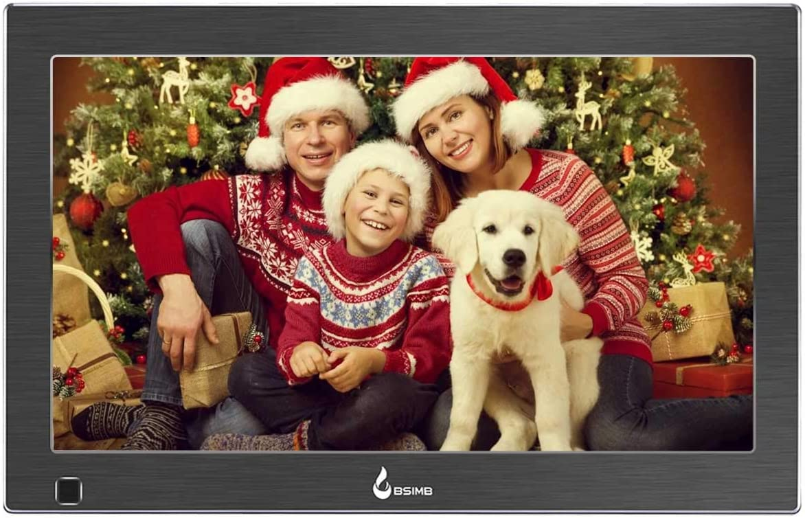 BSIMB 13.3 Inch Digital Picture Frame Digital Photo Frame 1920×1080 16 9 IPS Display Widescreen with Motion Sensor and Remote Control Support USB SD Card Infrared M14