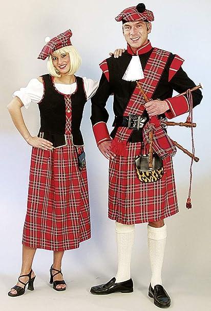 Escocés completamente-traje rojo, carnaval, Carnaval: Orlob ...