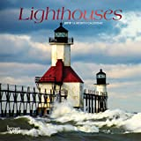 Lighthouses 2019 7 x 7 Inch Monthly Mini Wall