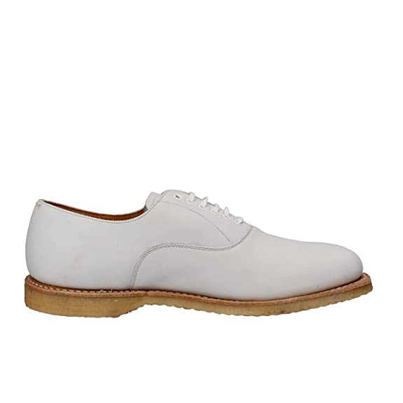 Amazon.com | Shoes Man CHURCH'S Oxford-shoes / Elegant White Suede AH486 (12  US / 45 EU) | Oxfords