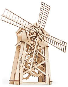 Wood Trick WINDMILL Wind Mill Mechanical Model Review